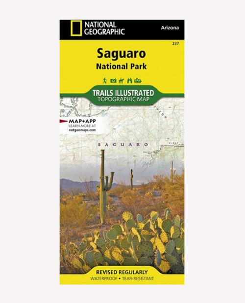 NATIONAL GEO MAPS Saquaro N.P. Hiking Map