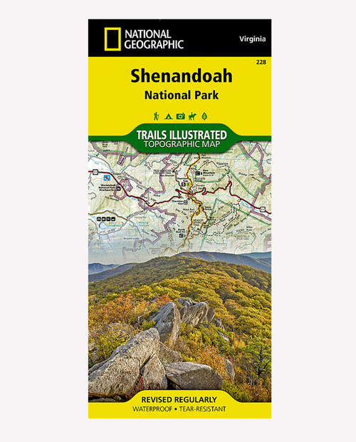 NATIONAL GEO MAPS Shenandoah National Park #228