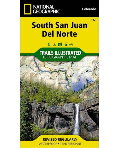 NATIONAL GEO MAPS South San Juan #142