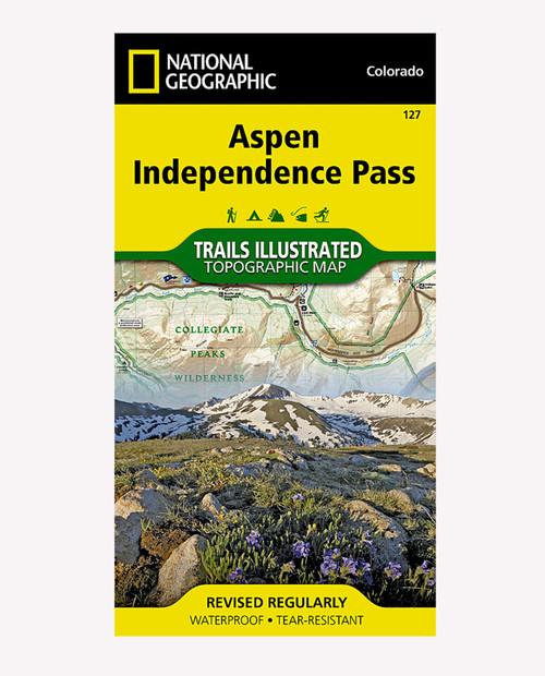 NATIONAL GEO MAPS  #127 Aspen Hiking Map