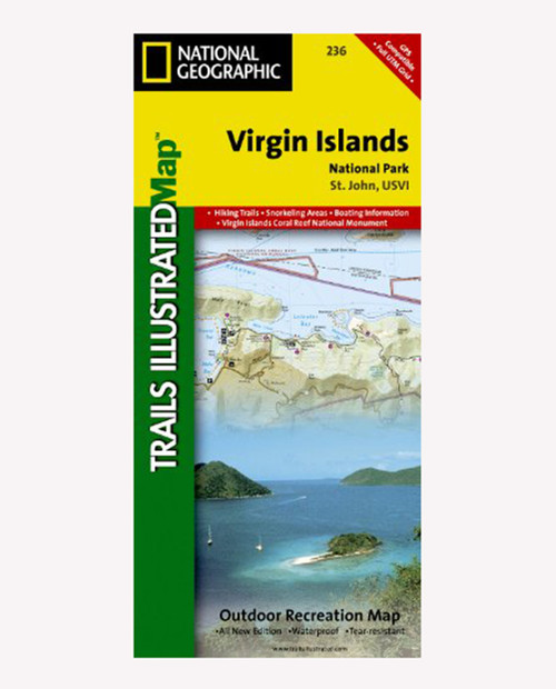 NATIONAL GEO MAPS Virgin Islands NP 236