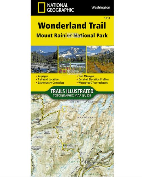 NATIONAL GEO MAPS Wonderland Trail #1014
