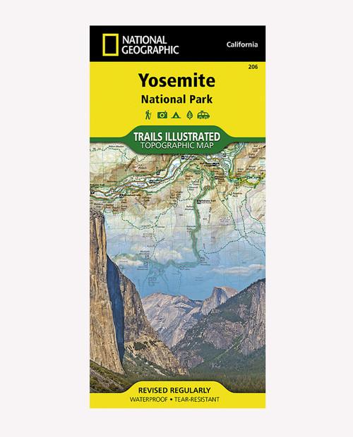 NATIONAL GEO MAPS Yosemite National Park CA