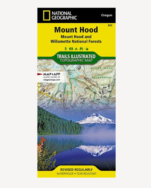 NATIONAL GEOGRAPHIC MAPS Mt Hood #820