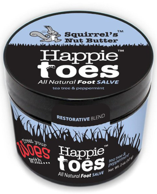SQUIRRELS NUT BUTTER 2.0 oz Happie Toes Tub