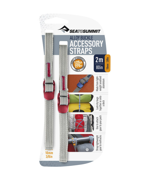 SEA TO SUMMIT Acc Straps Hook Release Pair 10mm 2M