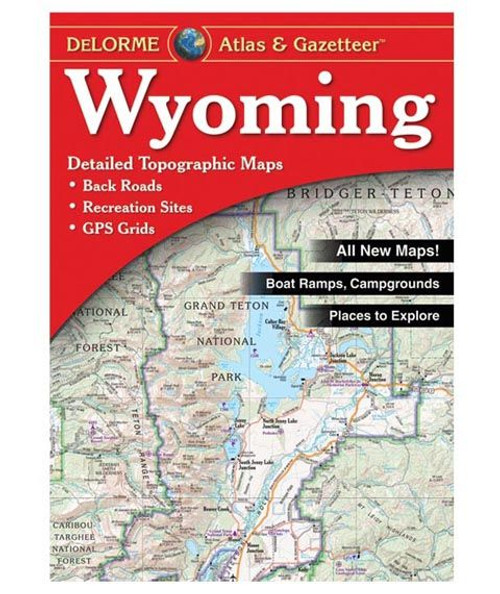 Delorme Wyoming Atlas