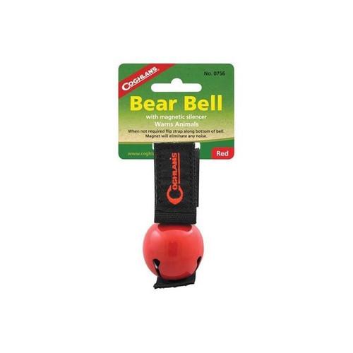 Magnetic Bear Bell Red