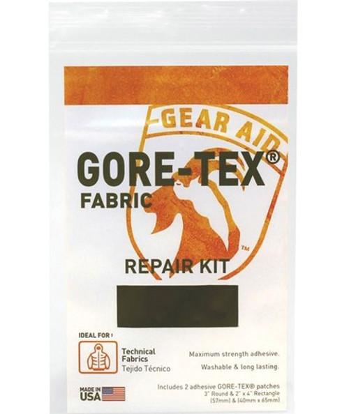 Black Gore-Tex Fabric Repair Kit