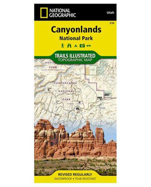 NATIONAL GEO MAPS Canyonlands Nat. Park #210