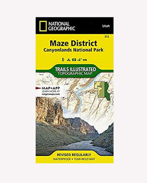 Canyonlands Nat'l Park Maze District UT