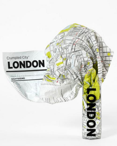 Crumpled City - LONDON