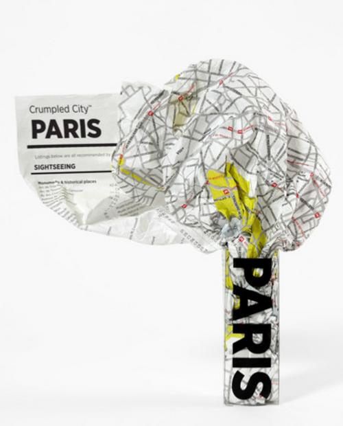 Crumpled City - PARIS