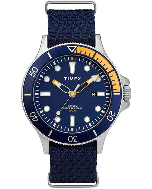 Allied Coastline - BLUEDIAL - BLUEFABRIC - 43MM