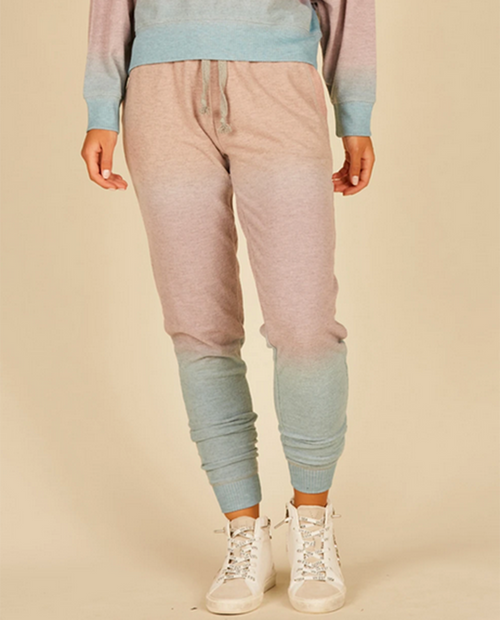 Womens Heavy Hacci Jogger W/ Slit Pocket