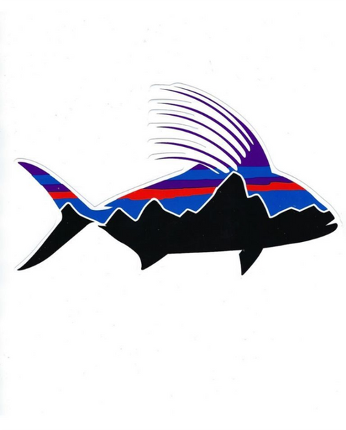 Fitz Roy Rooster Sticker