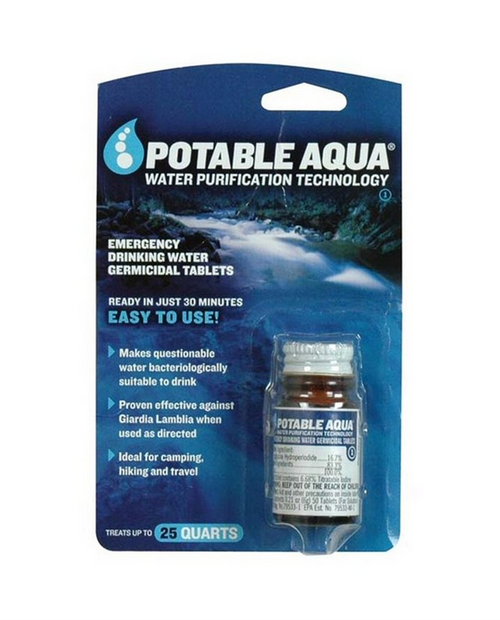 Potable Aqua Tablets