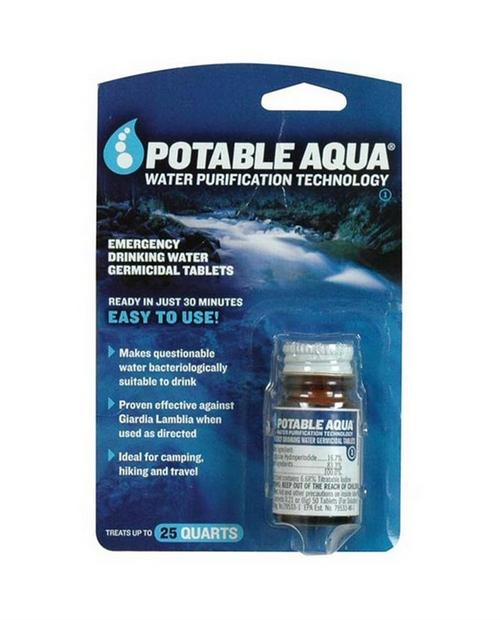 Potable Aqua Tablets