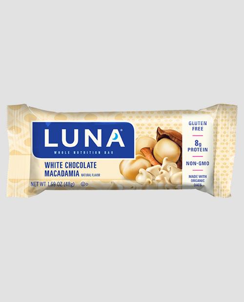LUNA WH. CHOC MACADAMIA BAR