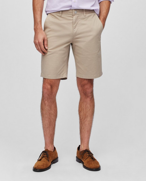 Stretch Washed Chino Shorts 9