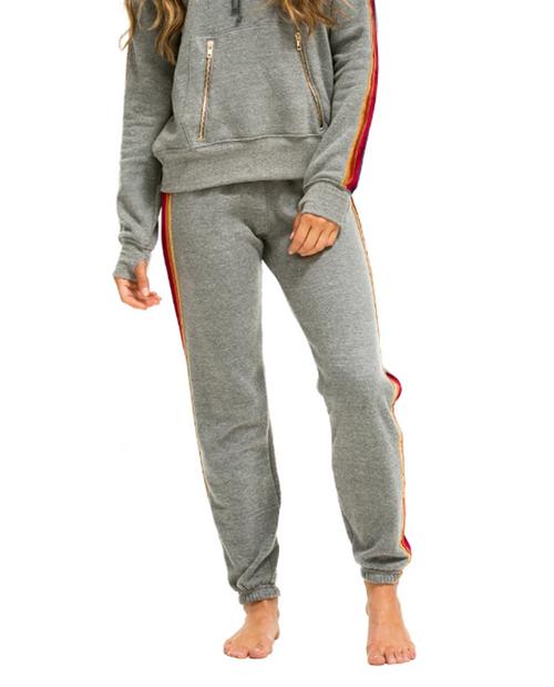 Womens Classic w/  Velvet Stripe Sweatpant