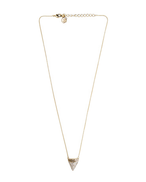 White Tip Tooth Necklace