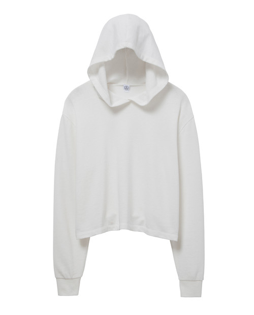 ALTERNATIVE APPAREL Cropped Pullover Hoodie