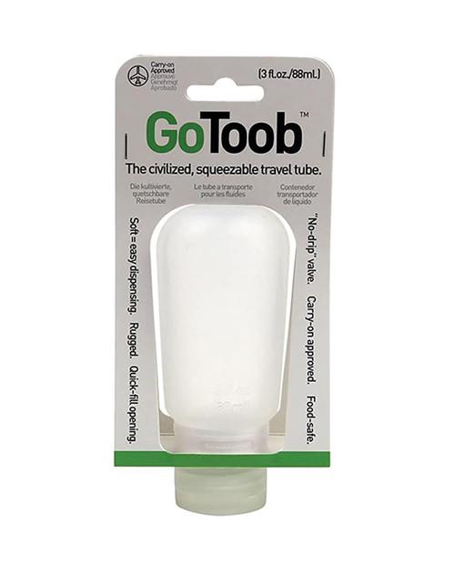 HUMANGEAR Gotoob 3 oz Clear