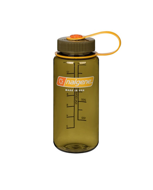 NALGENE Wide Mouth 1 Pint Olive