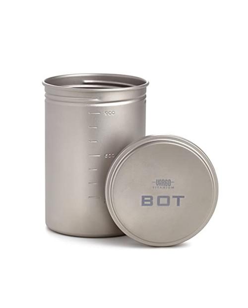 VARGO Titanium 'Bot' Bottle Pot