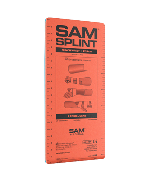 9 in Sam Splint Flat Fold