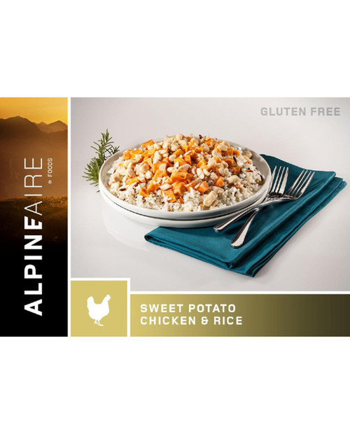 ALPINE AIRE FOODS Sweet Potato Chicken with Rice