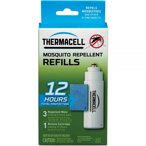 THERMACELL Mosquito  Repellent Refills 12 HR Single Refill Pack