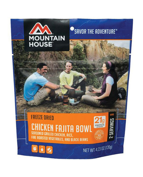 LIBERTY MOUNTAIN Mountain House Chicken Fajita Bowl