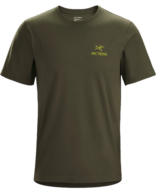 Mens Short Sleeve Emblem T-Shirt