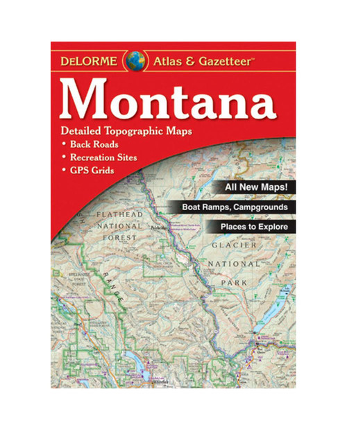 DELORME Montana Atlas