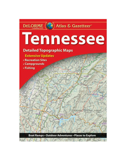 DELORME Tennessee Atlas A