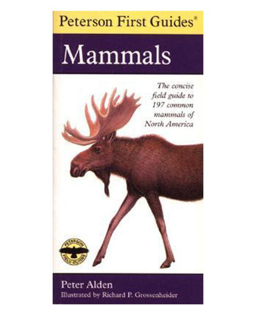 LIBERTY MOUNTAIN Peterson First Guide to Mammals of North America