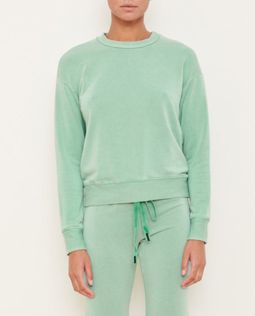 Long Sleeve Viscose Fleece Pullover