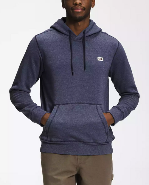Mens Heritage Patch Pullover Hoodie