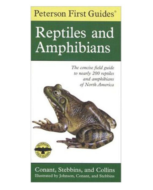 LIBERTY MOUNTAIN Peterson First Guide to Reptiles and Amphibians