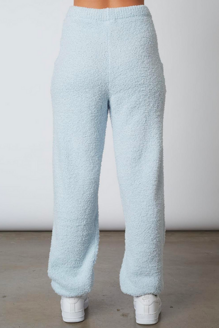 Womens Plush Sweater Jogger