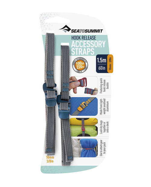SEA TO SUMMIT Acc Straps Hook Release Pair 10mm 1.5M