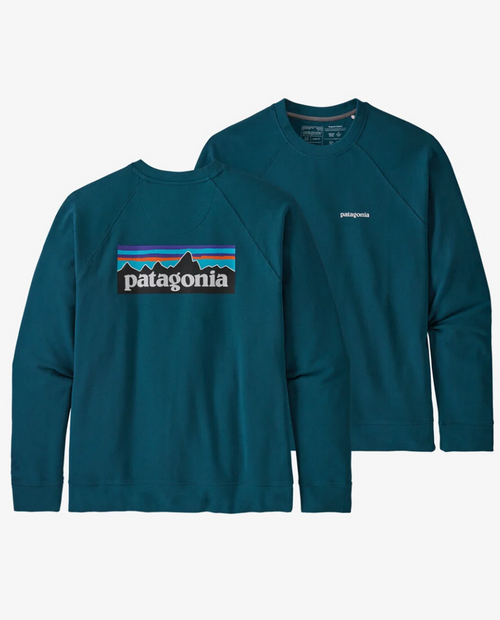 Mens P-6 Logo Organic Crew Sweatshirt