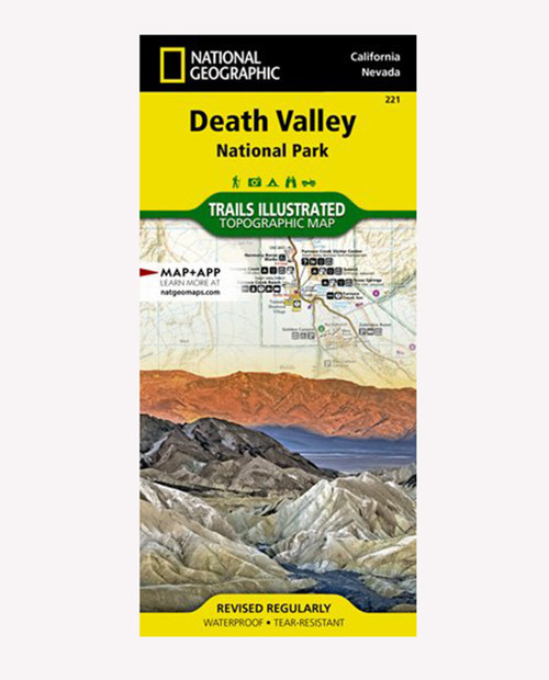 NATIONAL GEO MAPS Death Valley National Park CA