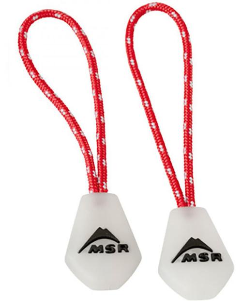 MSR Night Glow Zipper Pulls (2 Pulls)