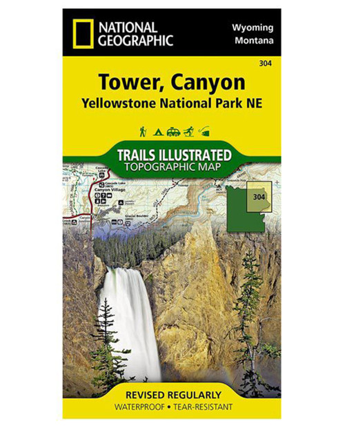 Tower, Canyon Yellowstone National Park #304