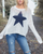 Wooden Ships - Star Slouchy Crew Cotton