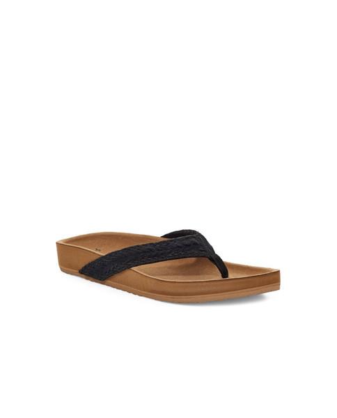 SANUK Womens She Loungy Hemp Sandal