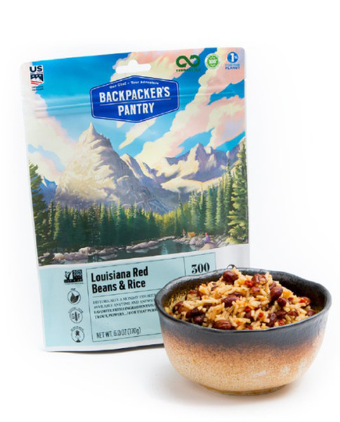 BACKPACKERS PANTRY Louisiana Red Beans n Rice 2p